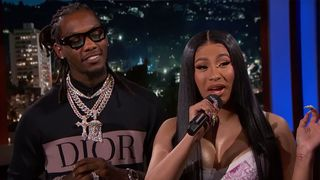 Jimmy Kimmel Helps Cardi B Offset Translate Clout Lyrics