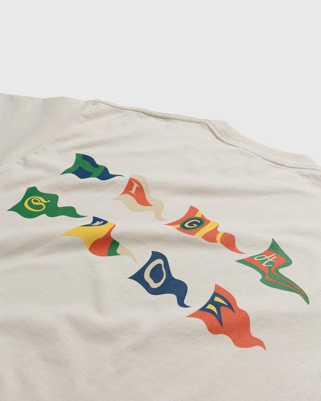 Highsnobiety – Flags T-Shirt Eggshell - Image 4