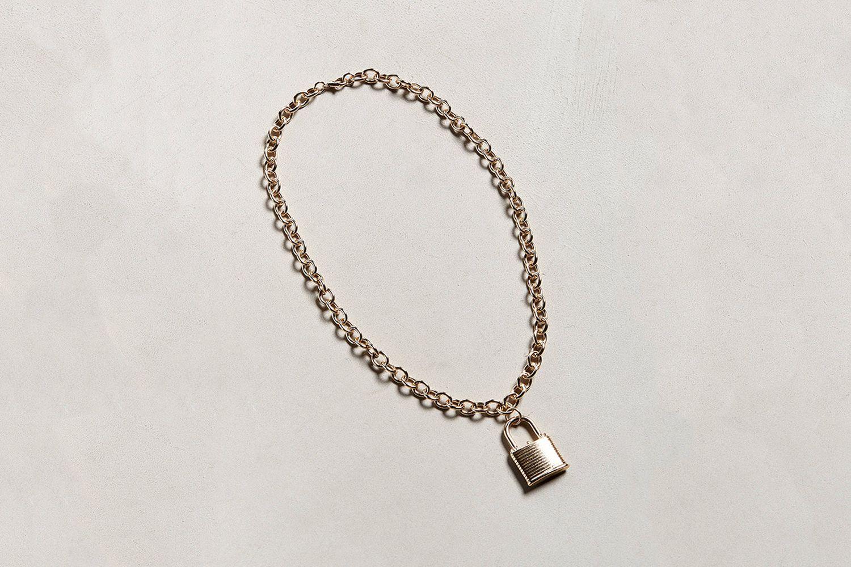 Padlock Necklace