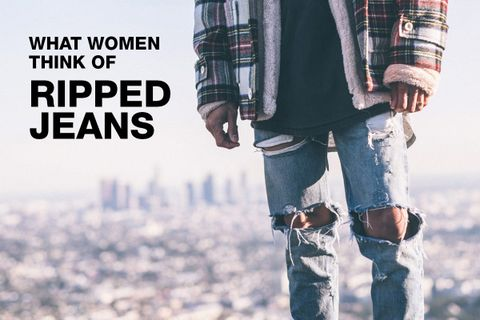 74e15e2ecaa Here's What Women Really Think About Guys Wearing Ripped Jeans