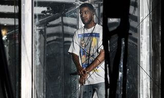The Story Behind Kid Cudi's 'Beavis and Butt-Head' T-Shirt Worn at Camp Flog Gnaw