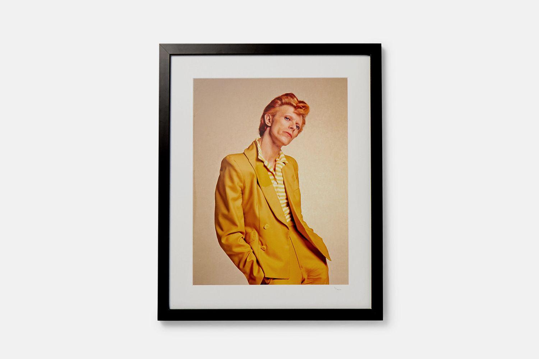 Framed 1974 David Bowie Print