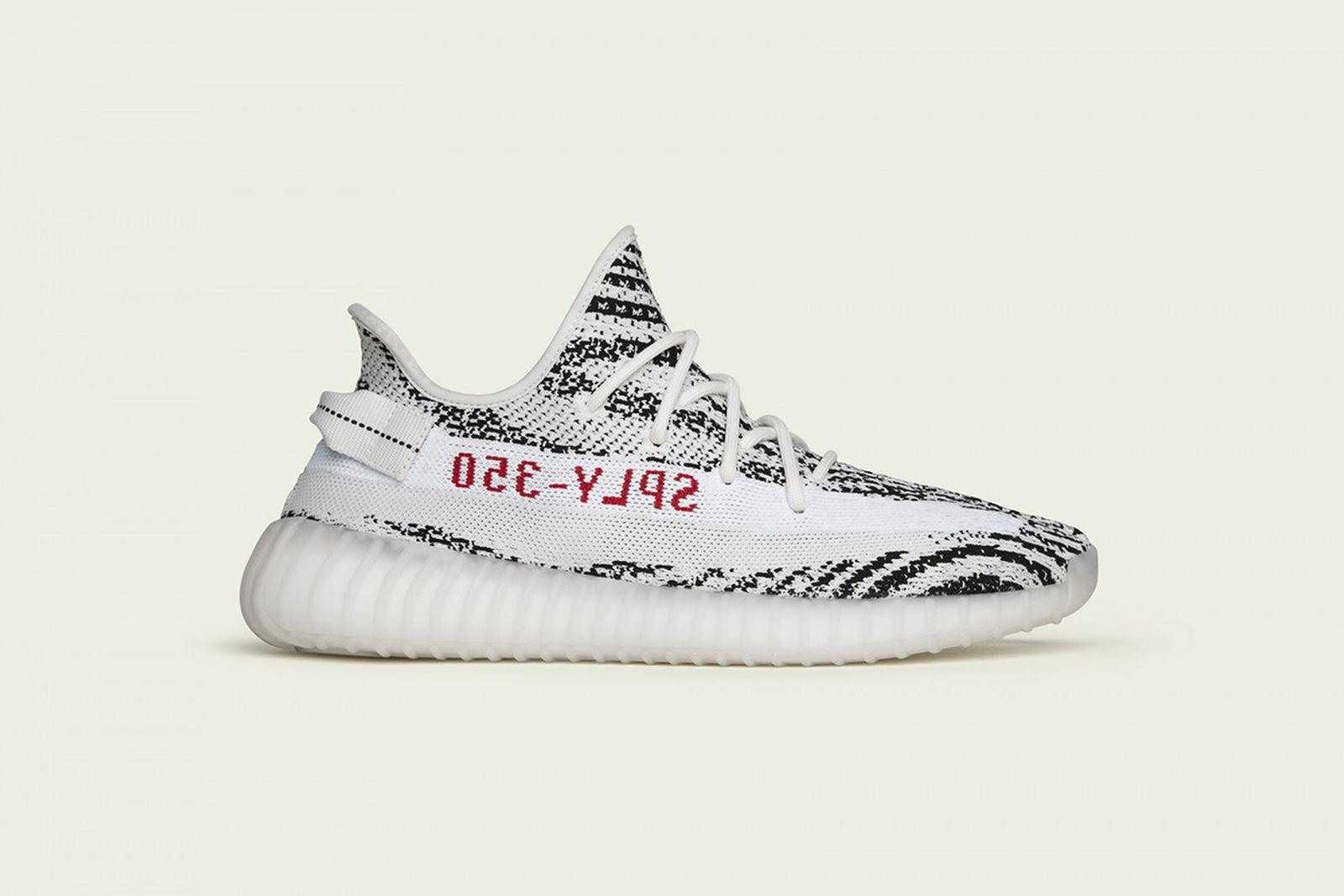 adidas yeezy boost 350 v2 zebra restock StockX adidas Originals YEEZY Boost 350 V2 kanye west