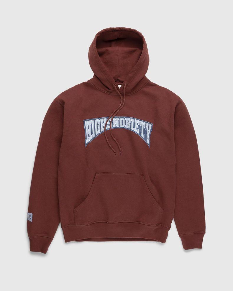 Highsnobiety – Collegiate Hoodie Brown