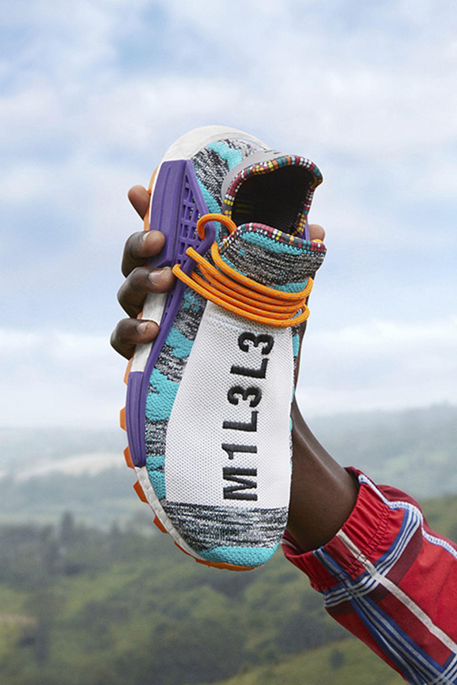 "lechuga Definitivo Optimista  Pharrell Williams x adidas Originals NMD Hu ""Solar"": Where to Buy"