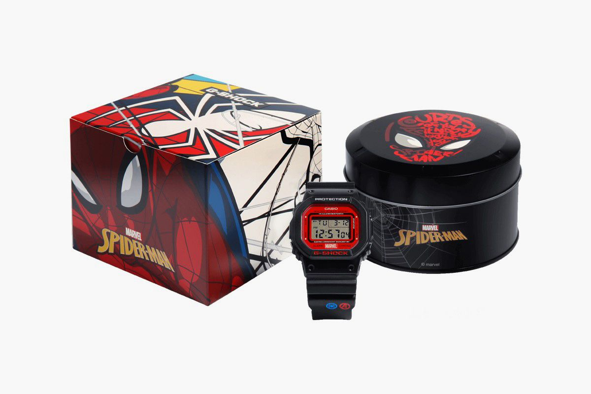 G-SHOCK Teams With Marvel For Three Avengers-Themed Watches