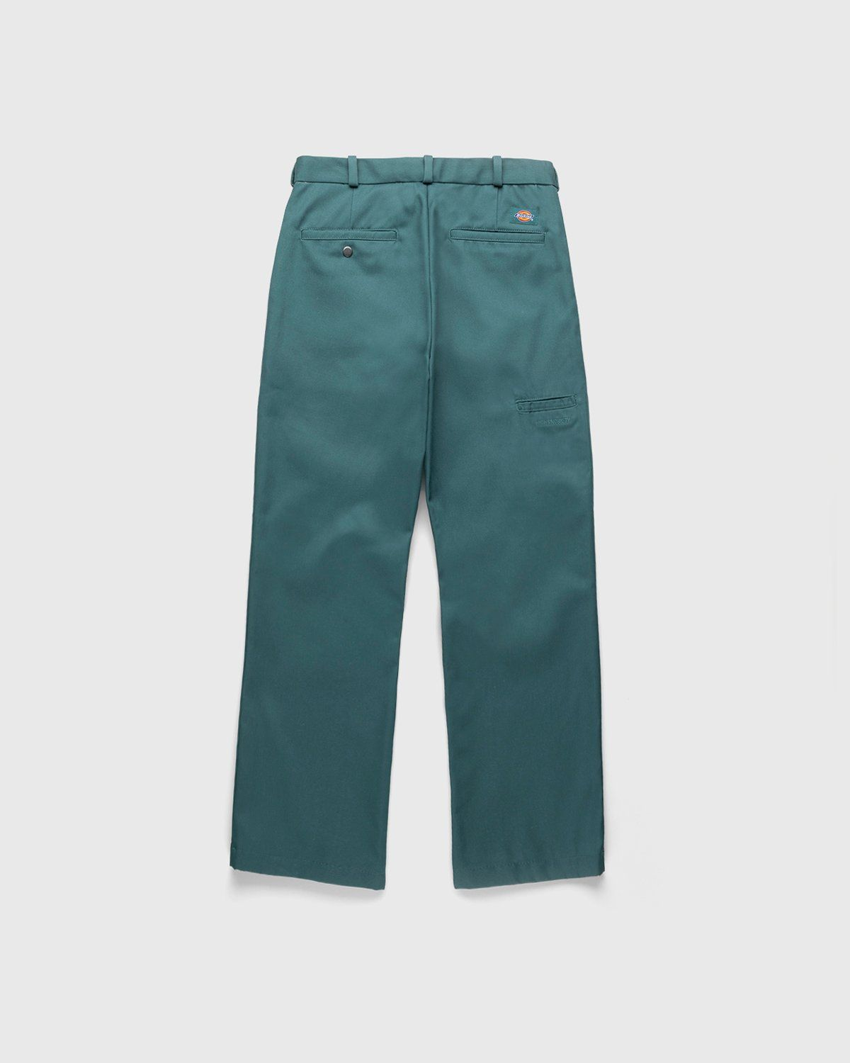 Highsnobiety x Dickies – Pleated Work Pants Lincoln Green - Image 2