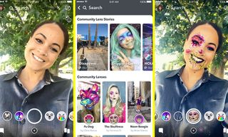 Snapchat Is Making It Easier to Discover User-Created Lenses