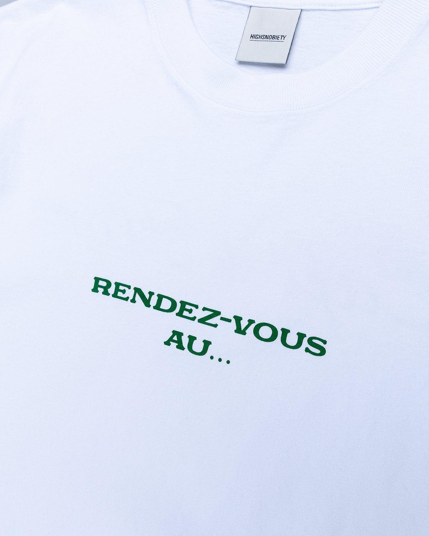 Highsnobiety — Not In Paris 3 x Café De Flore T-Shirt White - Image 3