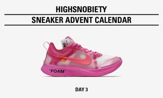 Win the OFF-WHITE x Nike Zoom Fly SP in Today's Highsnobiety Advent Calendar