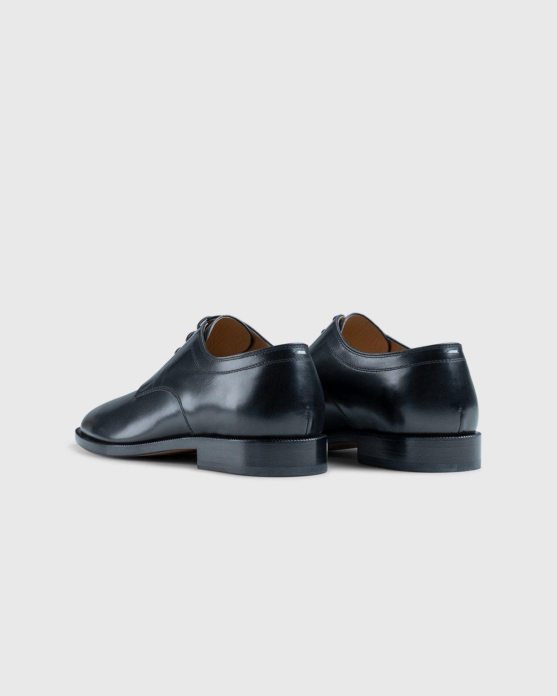 Maison Margiela – Tabi Lace-up Shoes Black - Image 3
