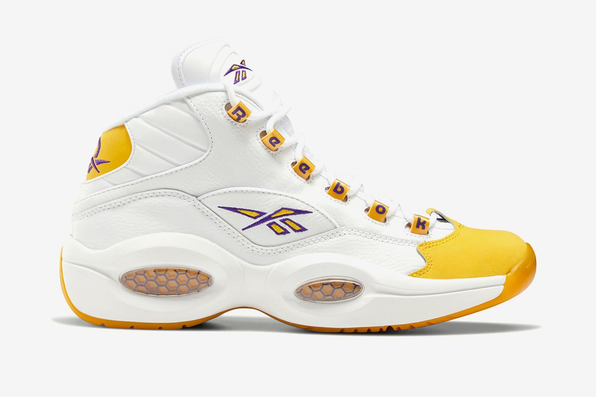 "Reebok's Kobe-Approved Question Mid ""Yellow Toe"" Returns This Week 10"