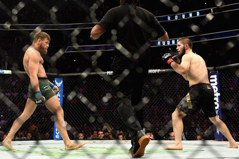 brief history mcgregor vs khabib beef main Conor McGregor Khabib Nurmagomedov UFC