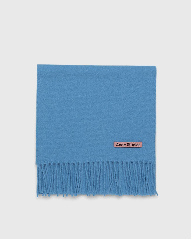 Acne Studios – Canada Skinny Scarf Azure Blue - Image 2
