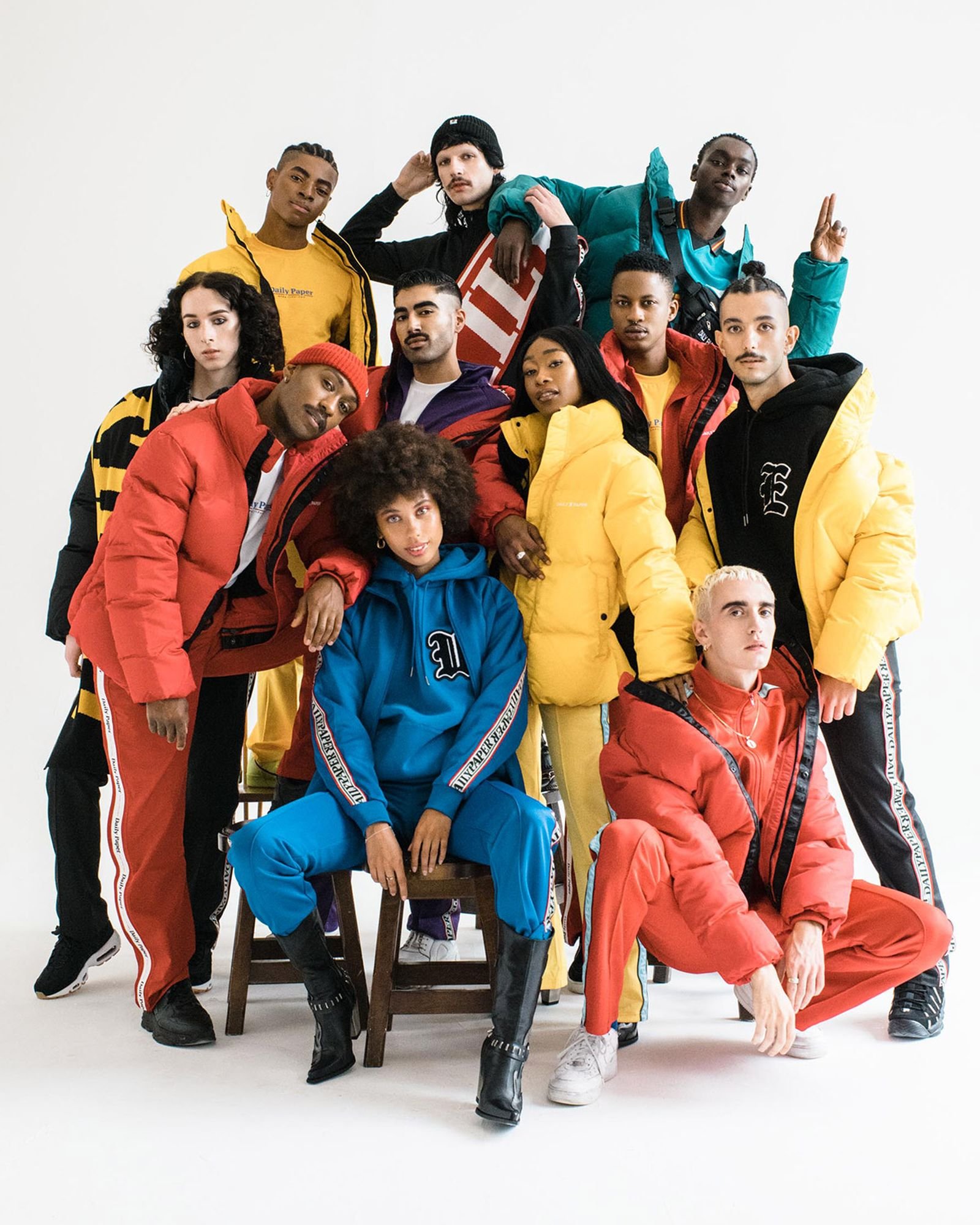 Over 30 London-based creators feature in Daily Paper's F/W 2018 UNITE campaign, made in partnership with FGUK Magazine.