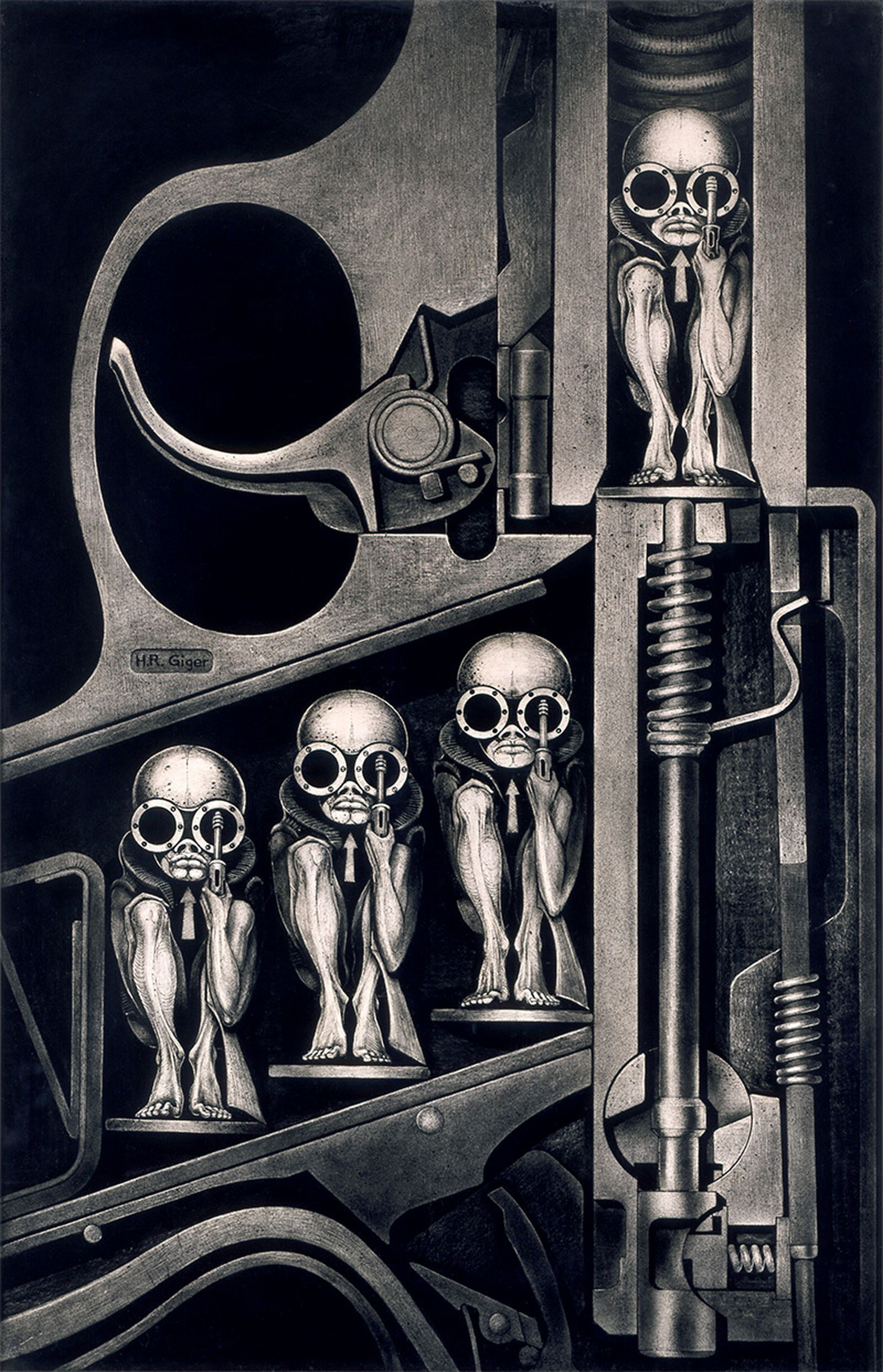 HR Giger, Stillbirthmachine, 1967