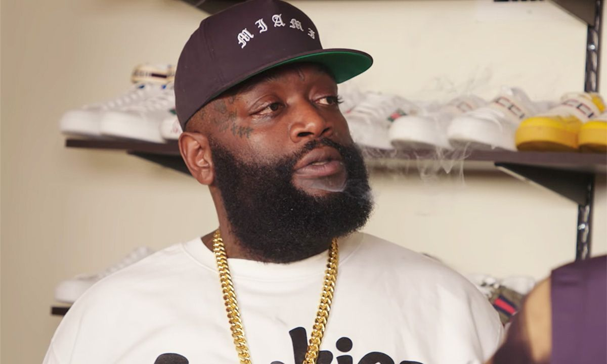 Rick Ross Flaunts Insane Sneaker Collection on 'Complex Closets'