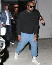 new product 82575 539e1 Kanye West Steps Out In Hollywood Wearing New YEEZY Sample
