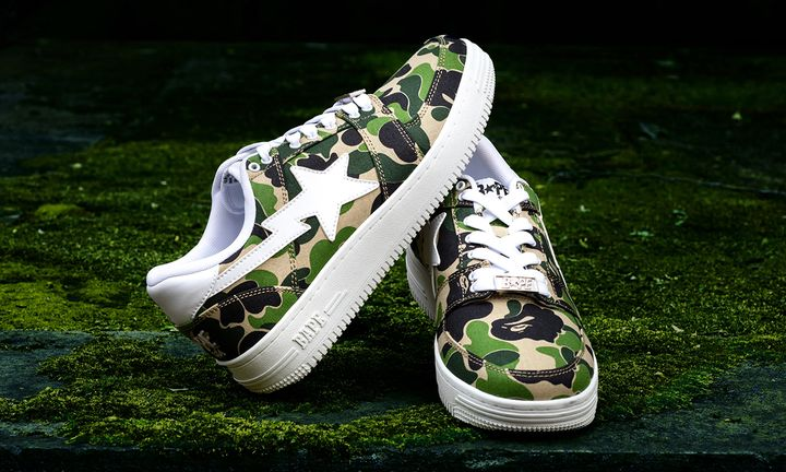 "BAPE BAPE STA LOW ""ABC CAMO"""
