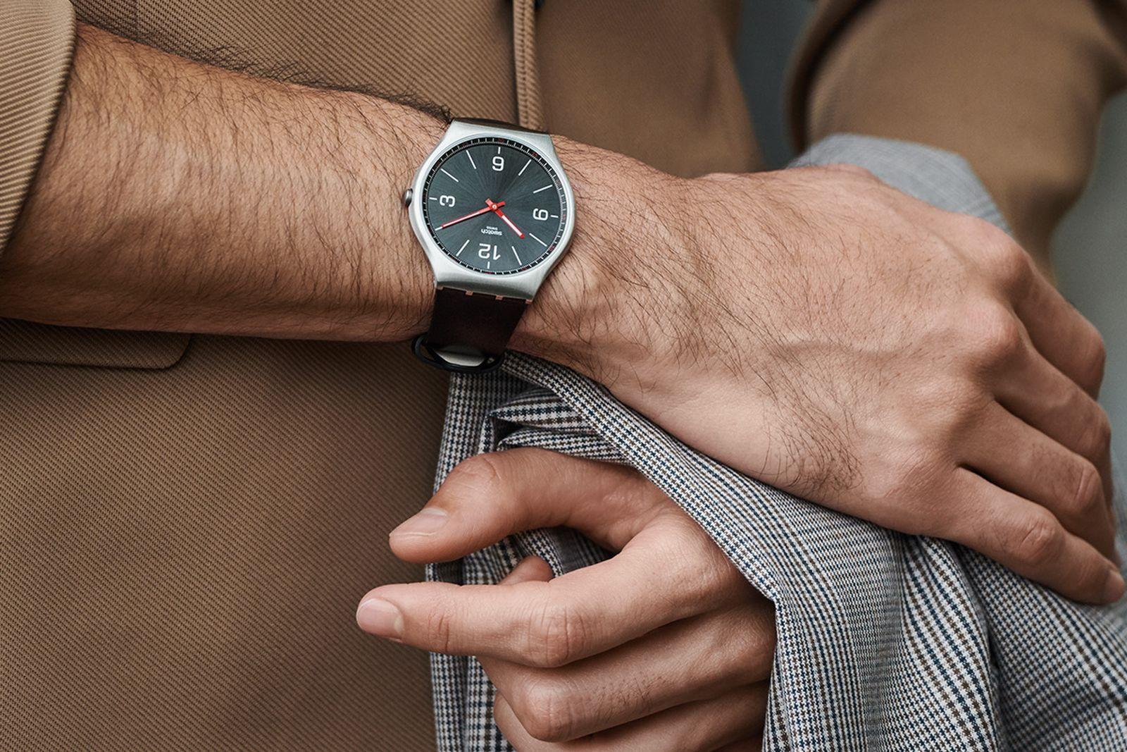 swatch skin irony watch