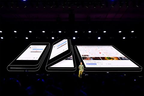 samsung foldable smartphone infinity flex display