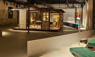 See Inside the Raf Simons x Kvadrat Salone del Mobile Installation & Cafe