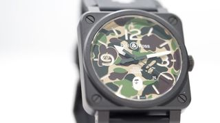 bape bell and ross watch collab A Bathing Ape