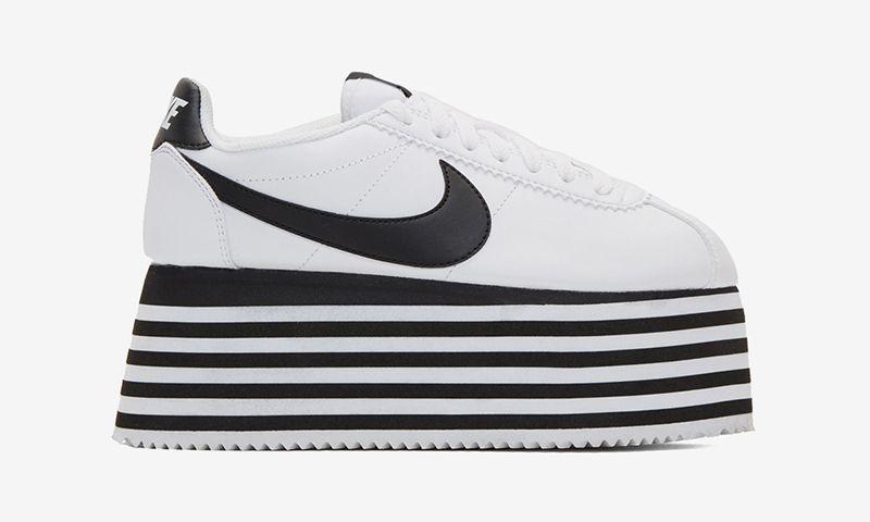 nouvelle collection e9224 f0074 COMME des GARÇONS x Nike Cortez Platform: Release Date ...