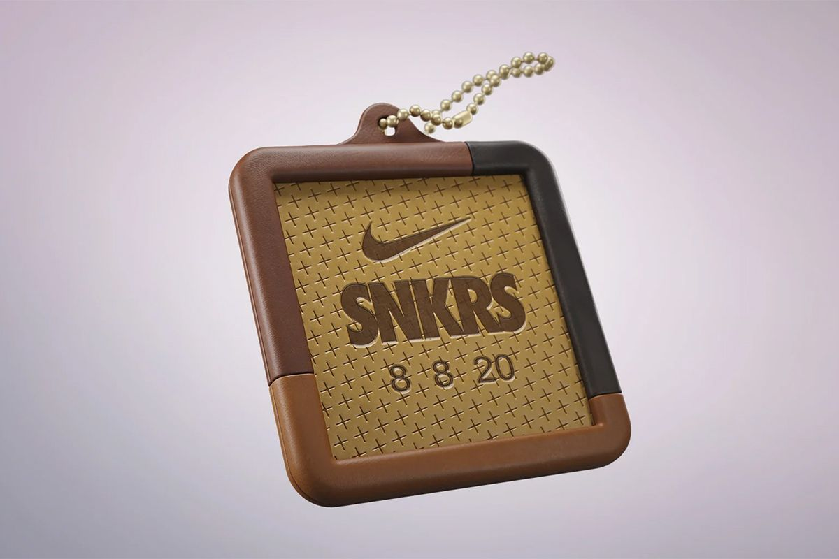 Nike SNKRS third anniversary hang tag teaser