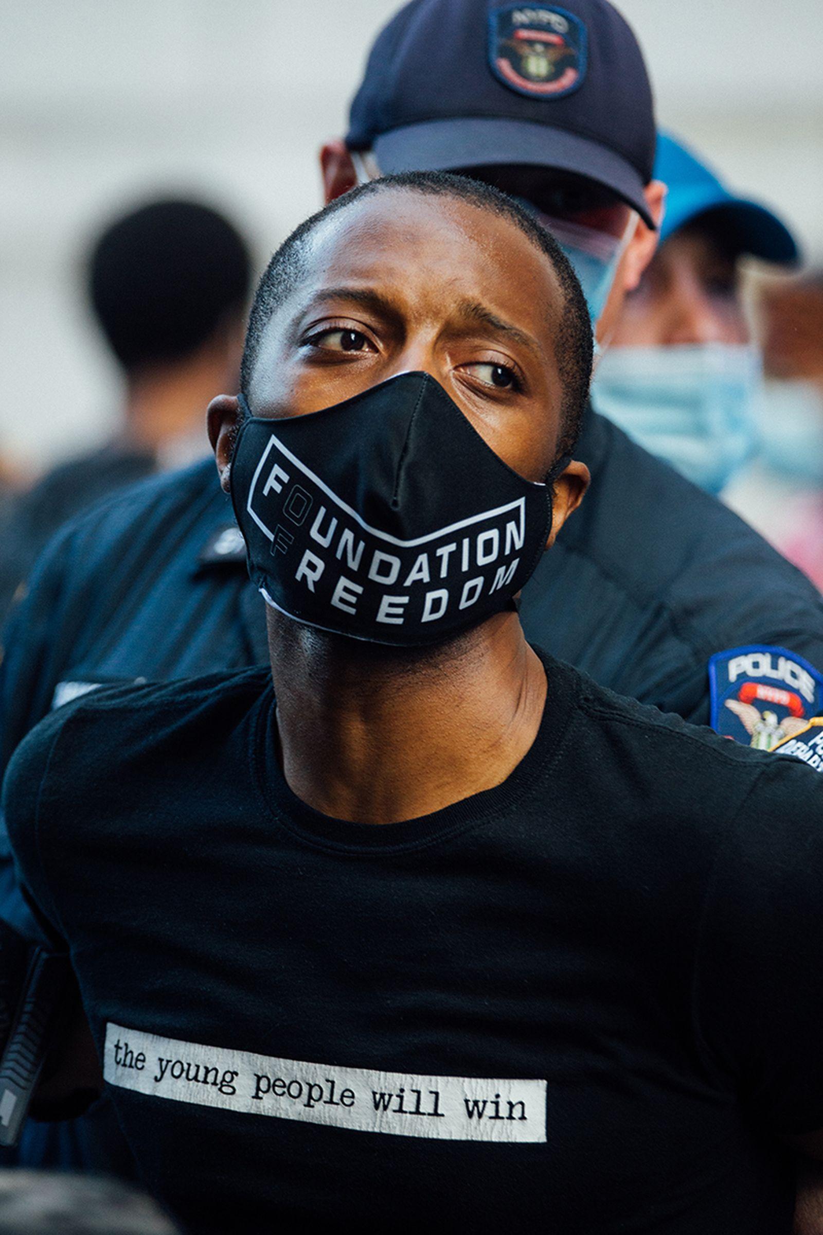 George Floyd protest NYC