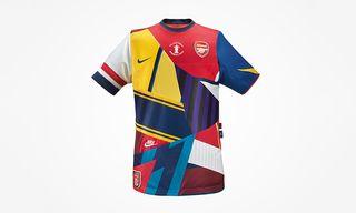 Nike Create Commemorative Arsenal FA Cup Shirt Celebrating 20 Years of Partnership
