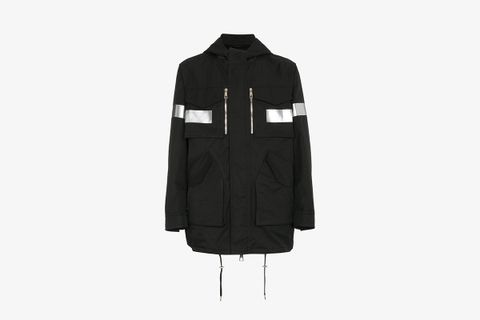 Reflective Hooded Parka