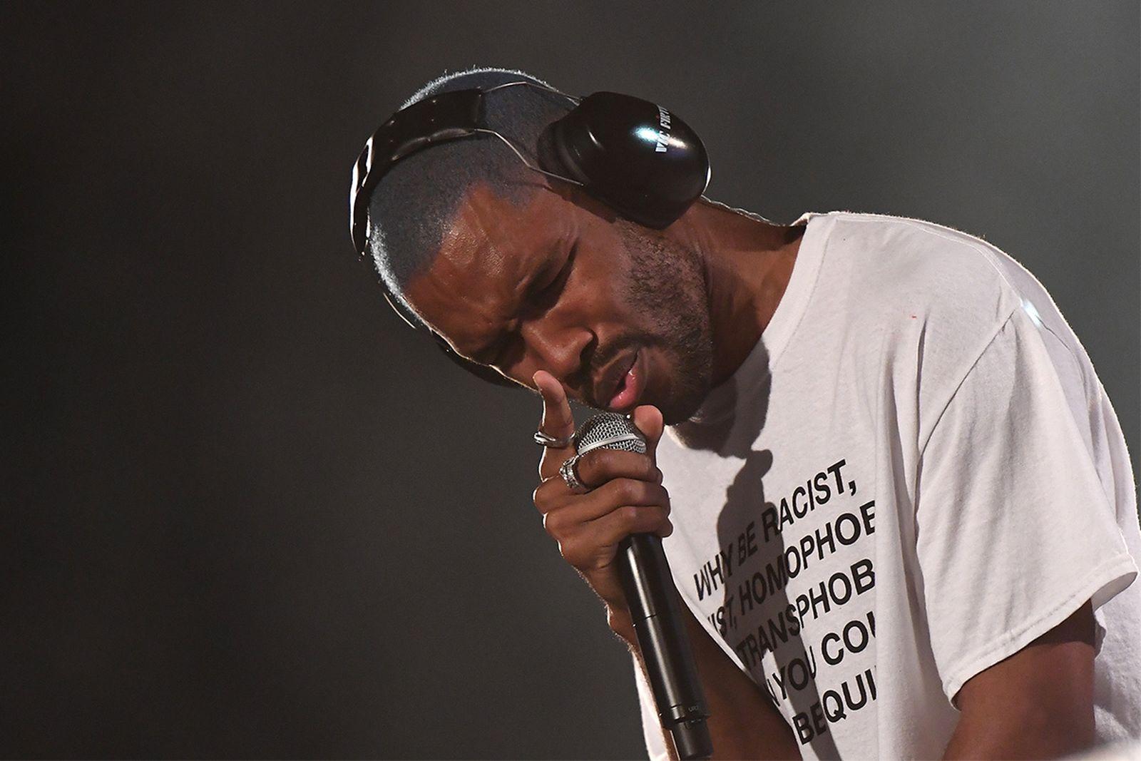 frank ocean endless album stream Apple Music spotify