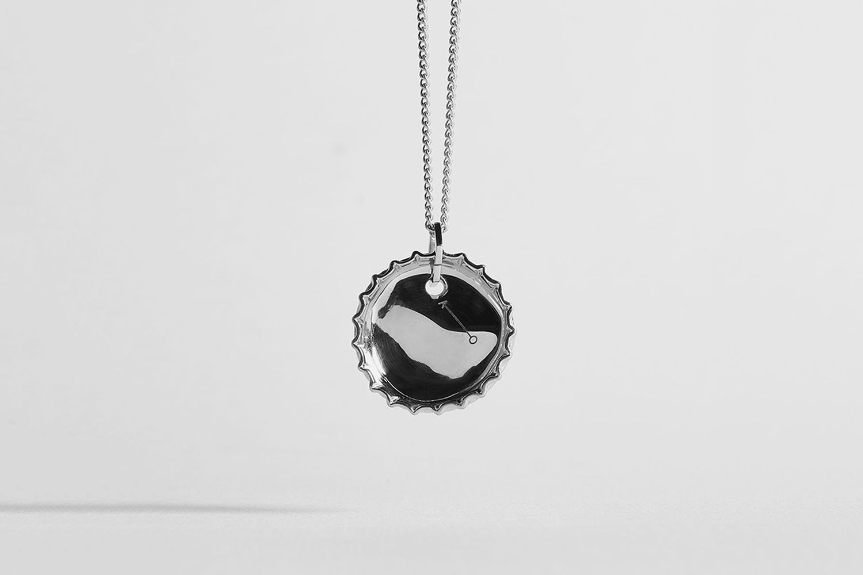 Bottle Lid Necklace