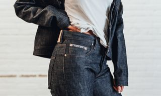 """Tell Them How You Really Feel With Raised by Wolves x Naked & Famous' """"F*CK OFF"""" Denim"""
