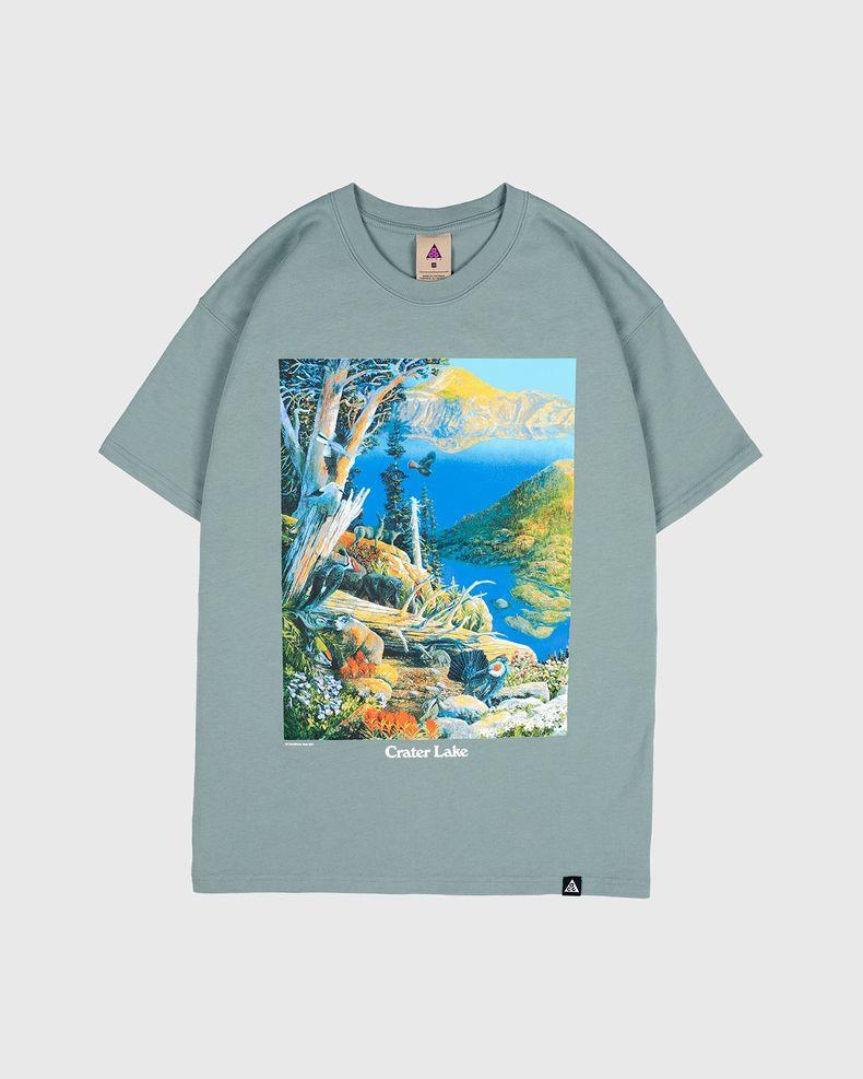 Nike ACG — M NRG ACG SS Crater Lake Tee Green