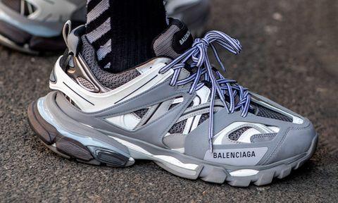 Balenciaga Track 2 light grey sneakers