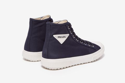 Stratus Cotton-Canvas High-Top Sneakers