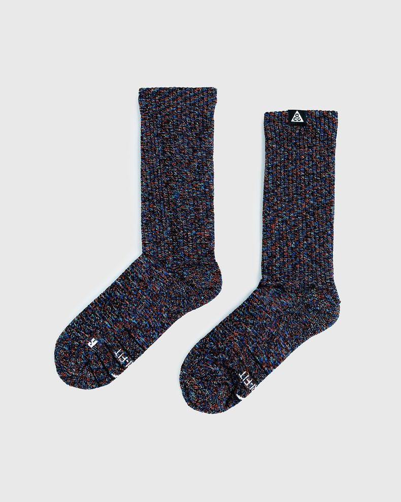 Nike ACG — U ACG Kelley Ridge Crew Socks Black