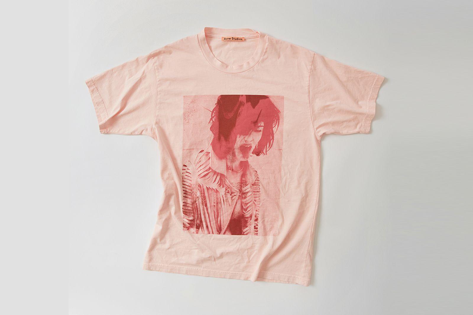 ss ux tshi000002 pale pink Acne Studios SS18
