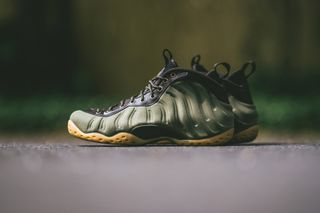 """e1e09741be Nike Serves up the Air Foamposite One PRM in """"Olive"""""""