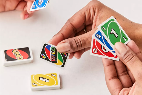World's Smallest Uno Card Game