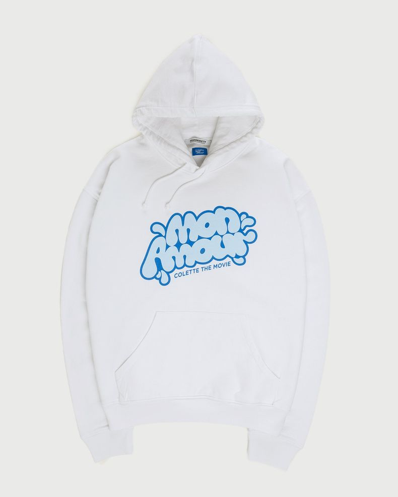Colette Mon Amour — Water Bar Hoodie White