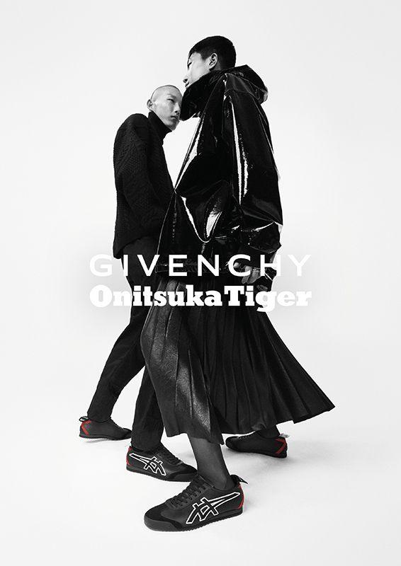 Givenchy Debuts Sneaker Collab With Onitsuka Tiger