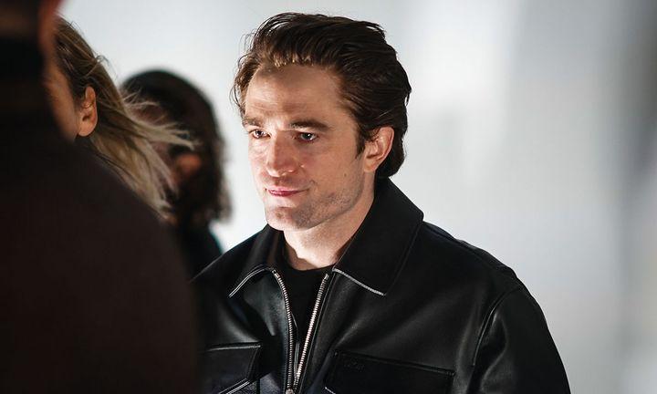 Robert Pattinson attends the Dior show, during Paris Fashion Week