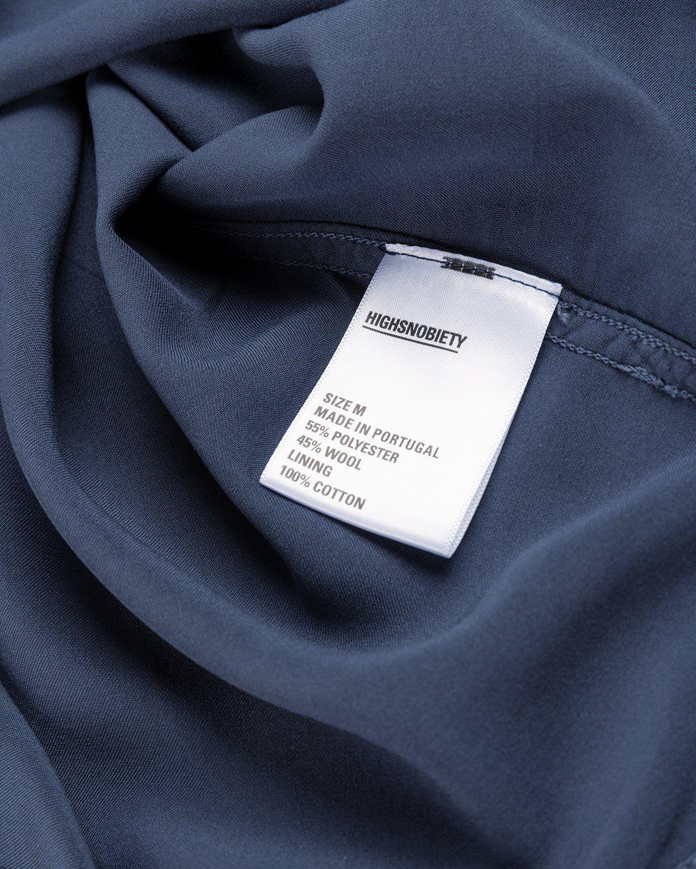 Highsnobiety – Bowling Shirt Navy - Image 5