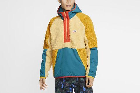 1/2-Zip Sherpa Hoodie