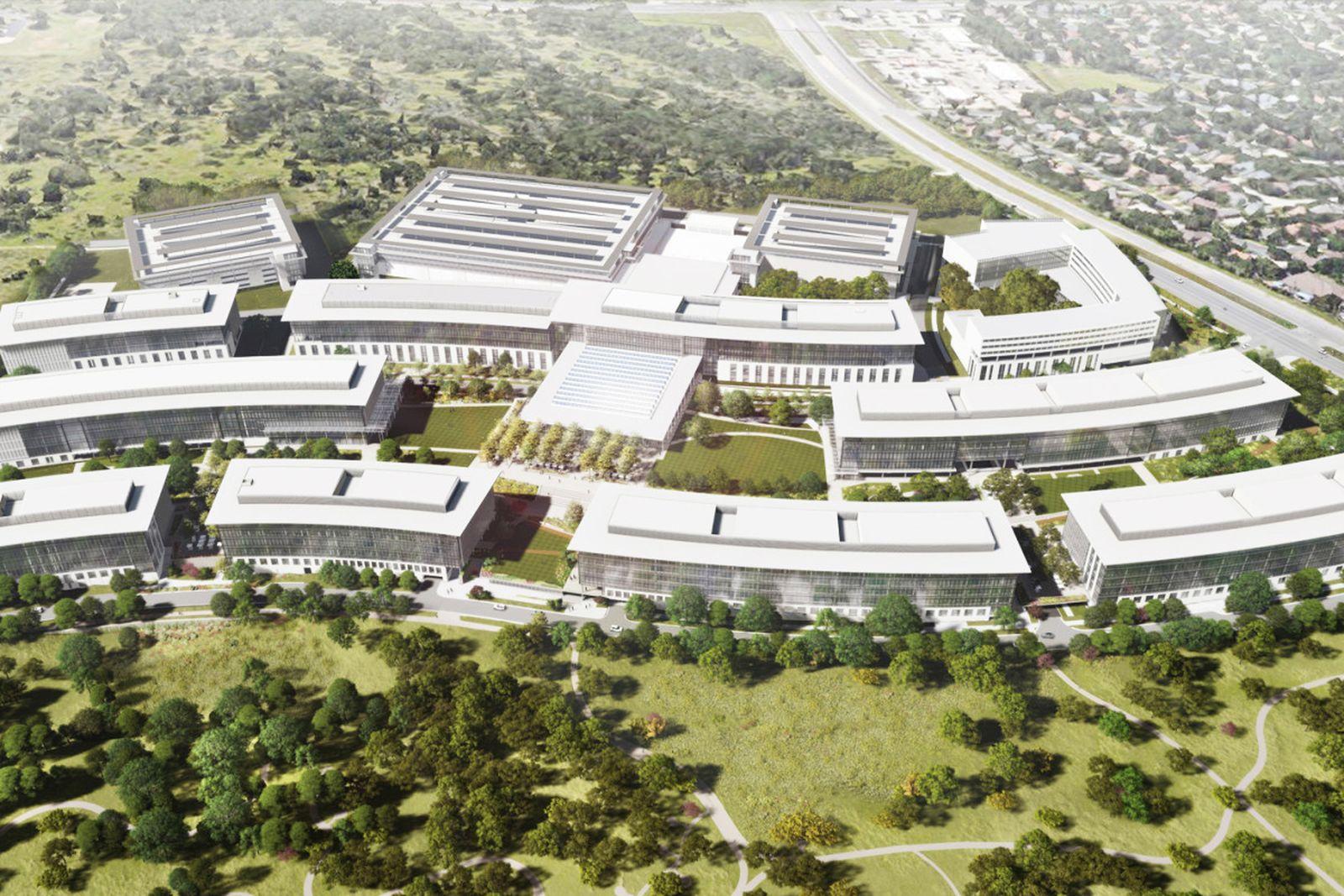 Apple Austin corporate campus