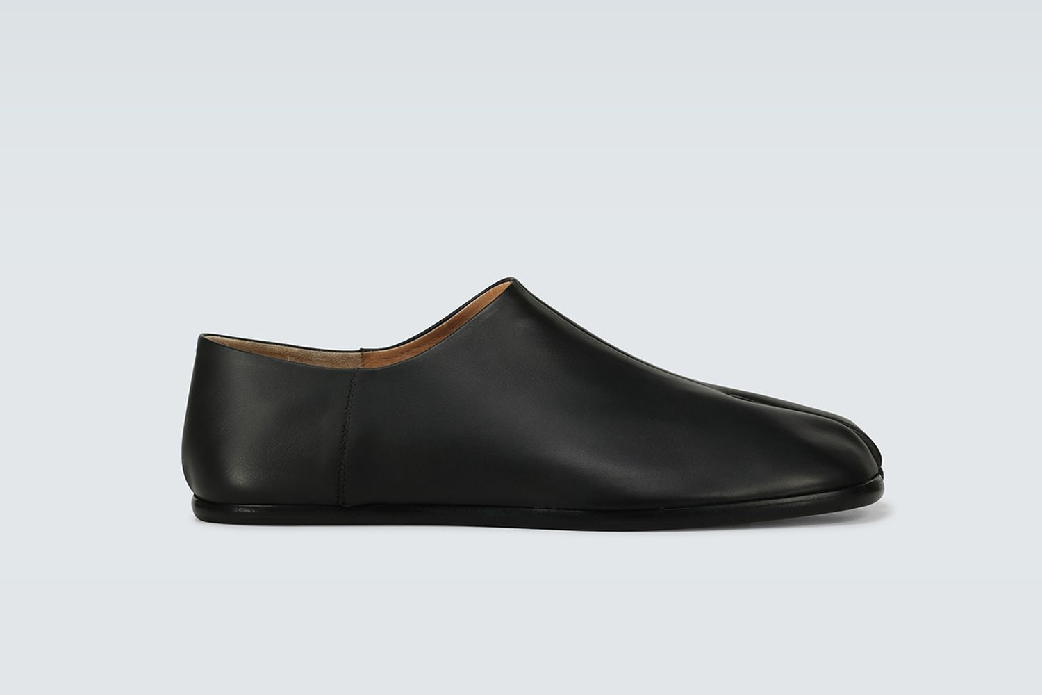 Tabi Babouche Leather Loafers