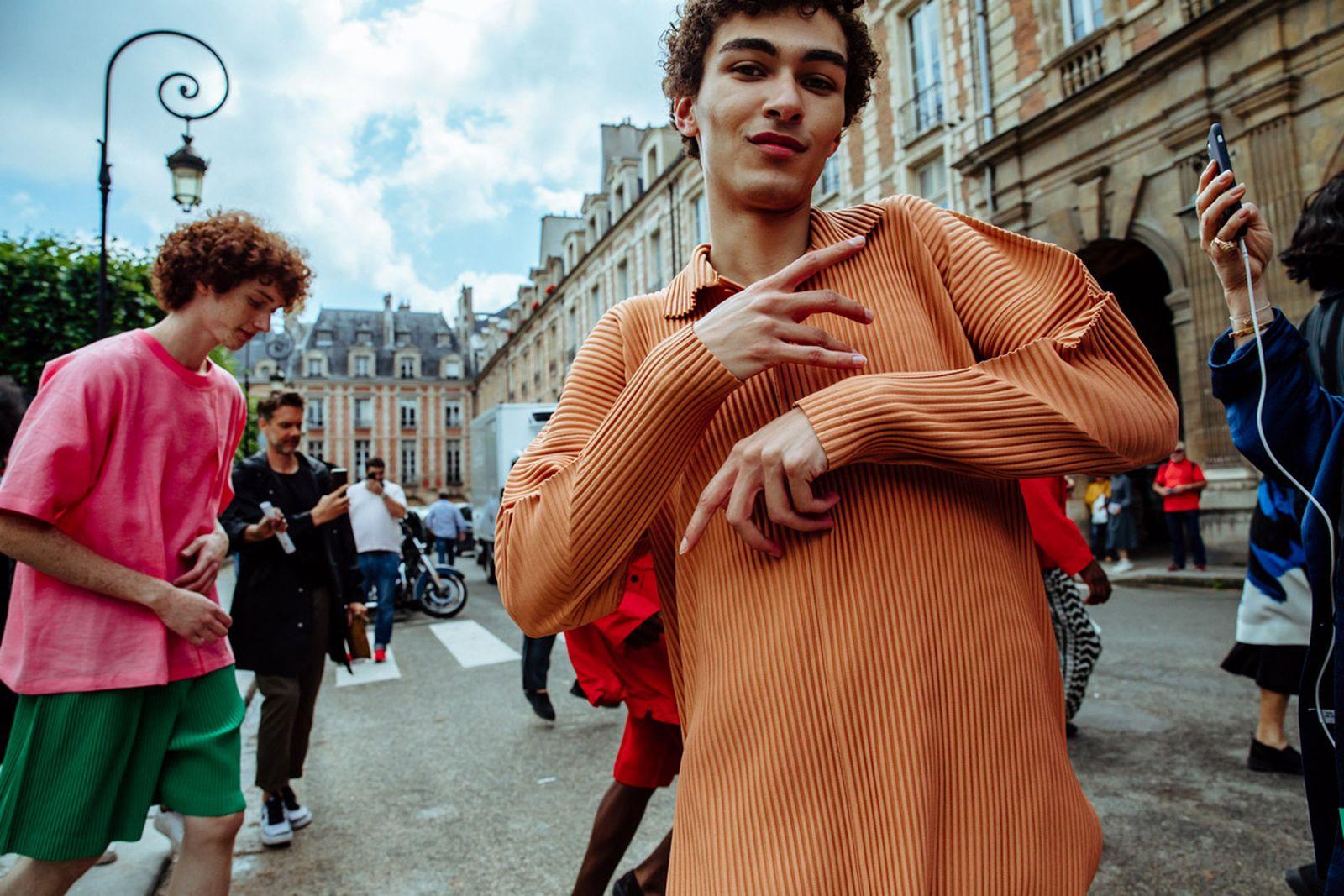 MSS20 Paris IsseyMiyake JulienTell ForWeb 16 Issey Miyake HOMME PLISSÉ paris fashion week runway